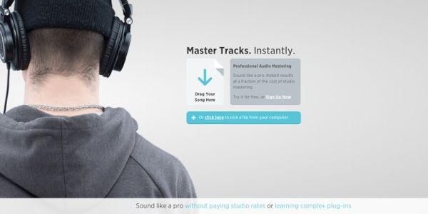 Landr audio mastering sound (2)