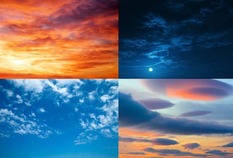 sky reflections