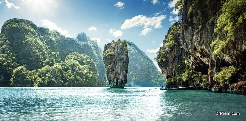 Phuket, the largest island of Thailand