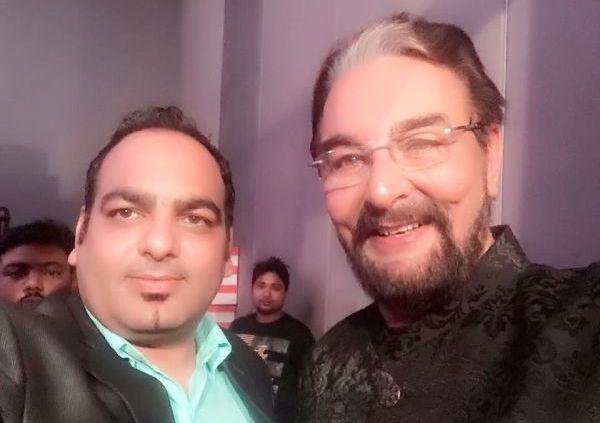 Dr. Prem with Mr. Kabir Bedi
