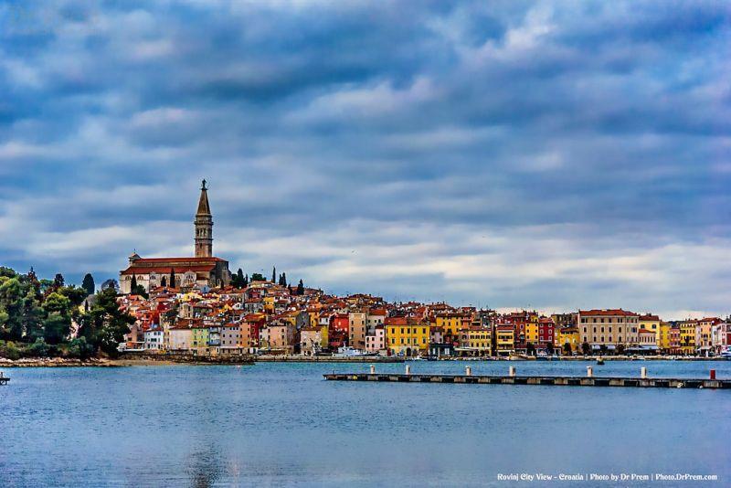 Rovinj City View Croatia Photo by Dr Prem