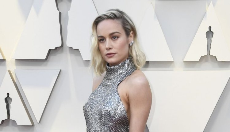 Brie Larson on the Oscars Red Carpet 2019