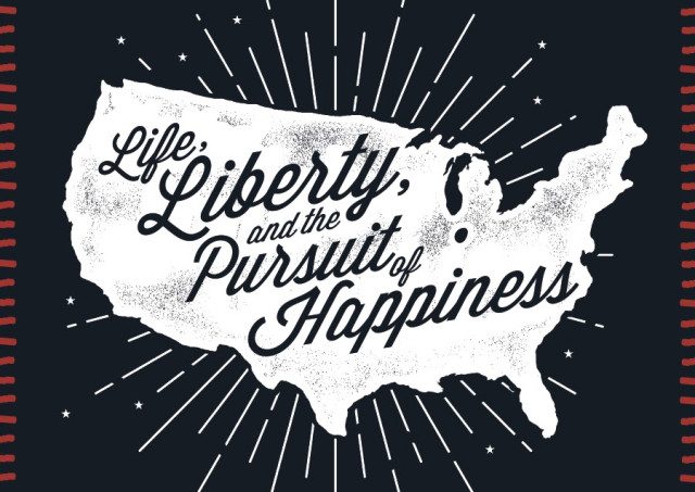 Life Liberty And The Pursuit Of Happiness Quote Mesmerizing Life Liberty And Pursuit Happiness Quote  Quotes Of The Day
