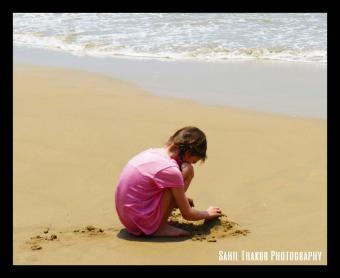 Building sandcastles by the wavefront