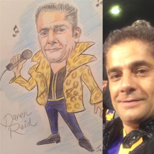 Cartoon Daren Reid