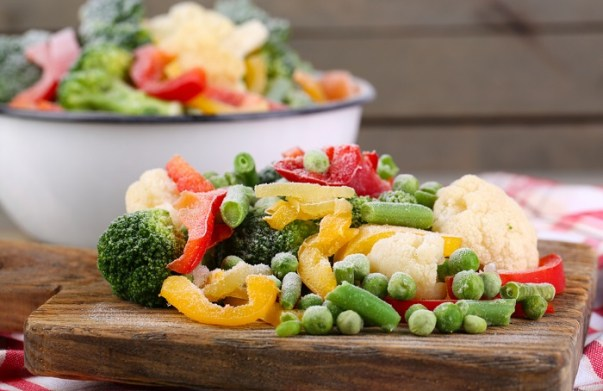 frozen fruits and vegetables are healthy