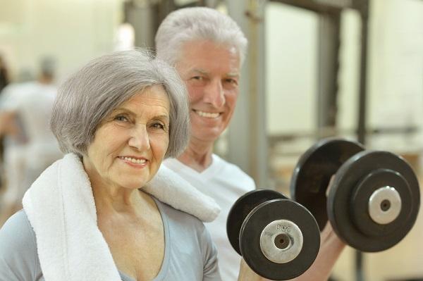 seniors strength training
