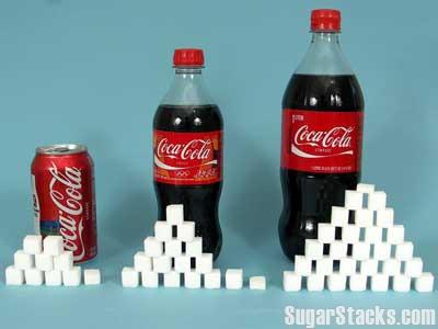 pop has a lot of sugar