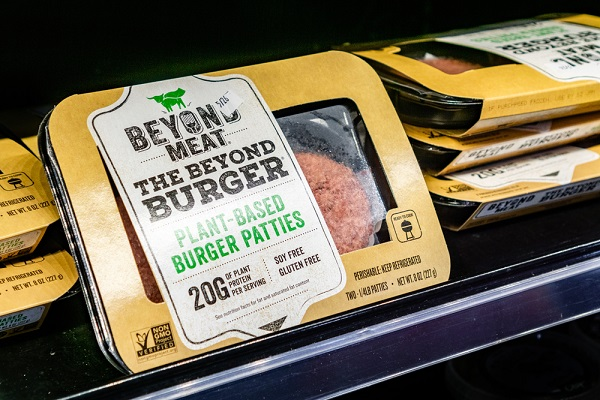 Beyond Meat is a plant-based meat alternative