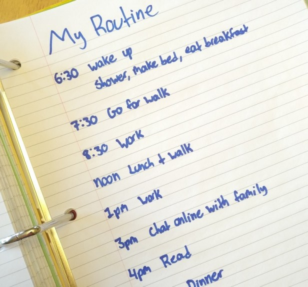 building a routine