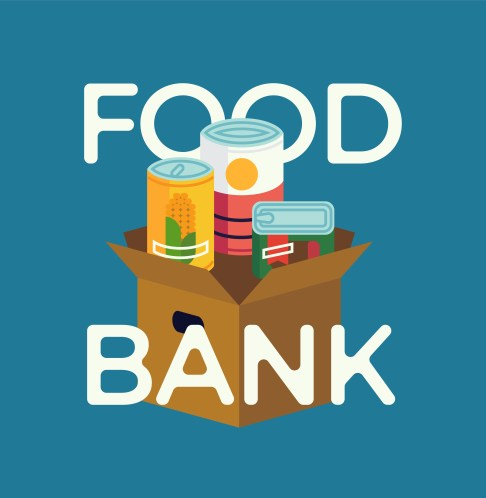 donate to the food bank to help