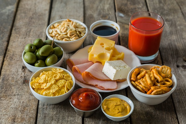 processed foods are high in salt and may be bad for you