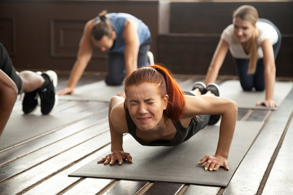 pushing past exercise fatigue