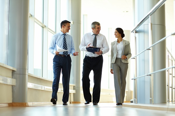 be active at work with walking meetings