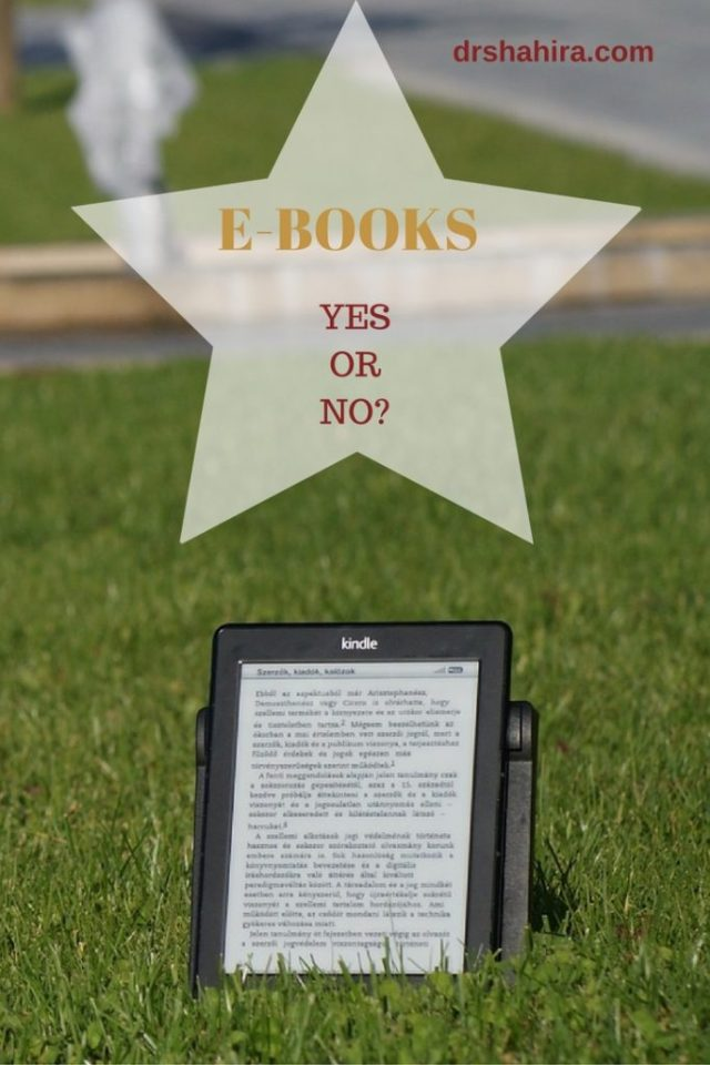 Ebooks - Do you like reading them? Why or Why not?