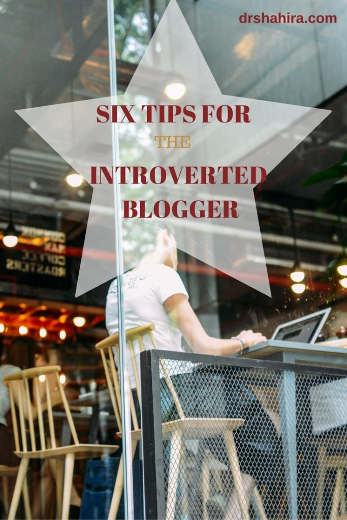 Six tips for the introverted blogger. Click to read more