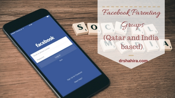Facebook Parenring groups based in Qatar and India