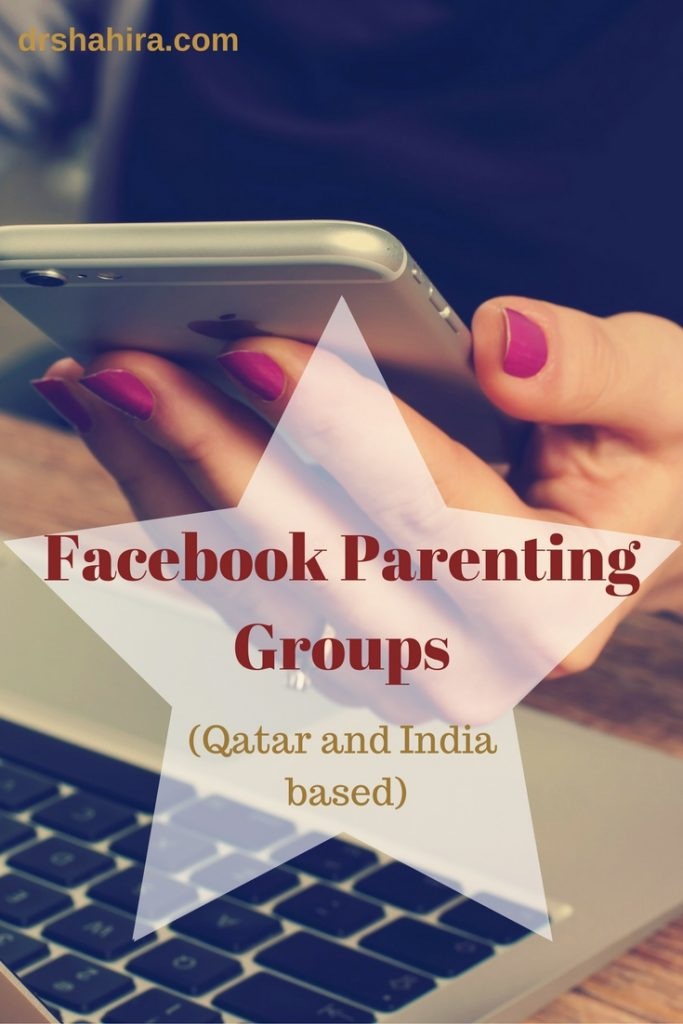 Facebook Parenting Groups based in Qatar and India