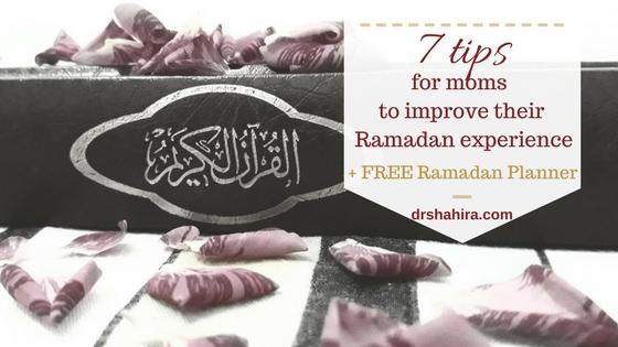 Ramadan motherhood, free Ramadan planner