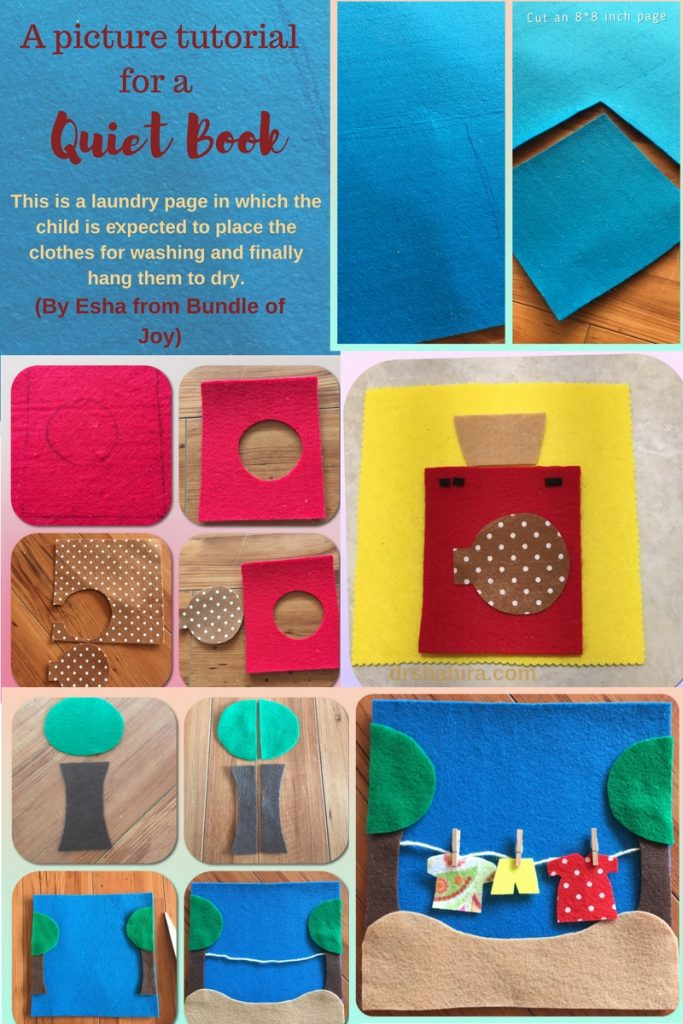 Busy Book Cover Tutorial ~ Quiet books busy felt a tutorial