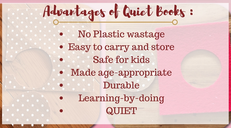 Quiet books ideas