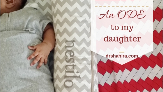 An Ode to my daughter