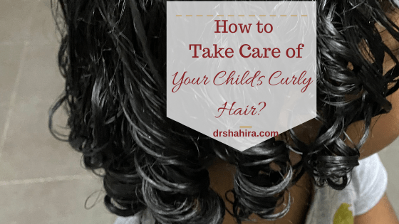 Taking care of Your child's curly hair