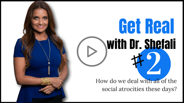 GET REAL: How do we deal with all of the social atrocities these days?