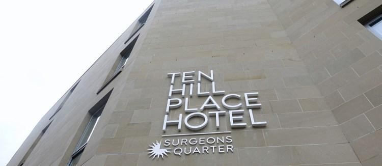 愛丁堡舊城區住宿–精品旅館TEN HILL PLACE HOTEL