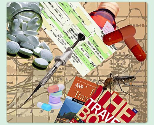 旅遊醫學–出國前疫苗大全