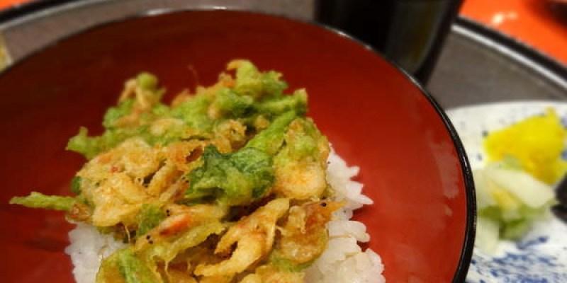 高檔天婦羅垂手可得--京都車站Hotel Granvia Kyoto京林泉晚餐