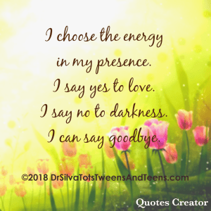 Positive Energy Affirmation Quote