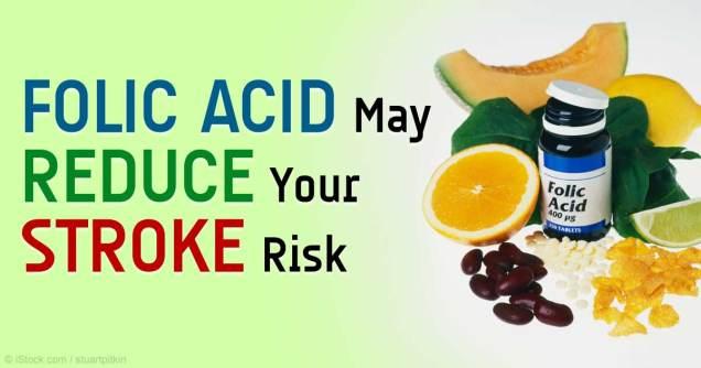Folic Acid May Help To Prevent Stroke Study Says