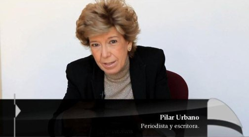La periodista Pilar Urbano