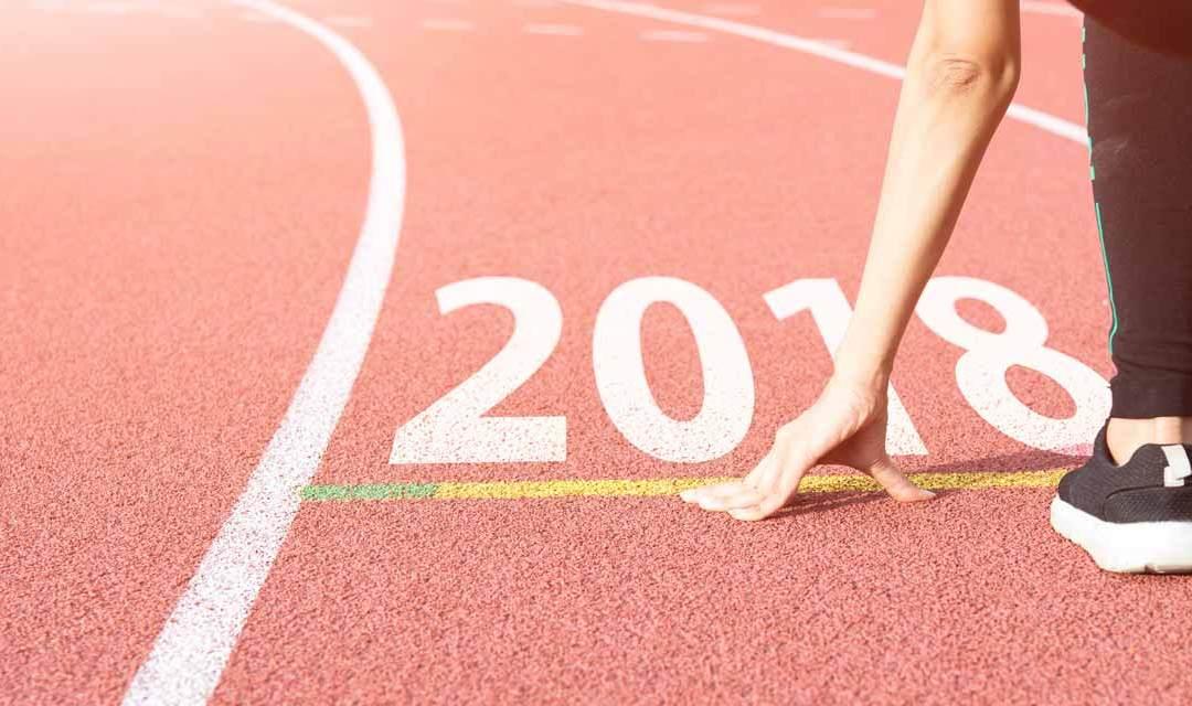 2018 : 5 bonnes résolutions… sportives !