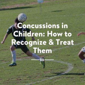 concussions in children