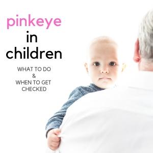 pinkeye in children