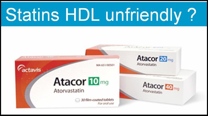 statins hdl ldl