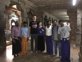 With a group of locals who wanted a picture with Anna and myself, but didn't have a camera