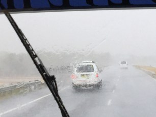 People drive the same, even in these conditions!