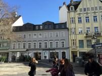 A shopping area