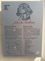 A general map of the area, pointing out significant places in Beethoven's life.