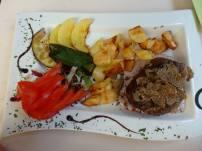 Truffle steak