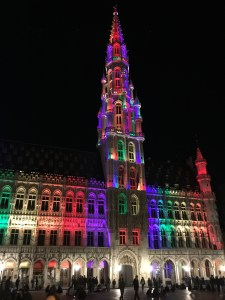 Grand Place in the city centre.