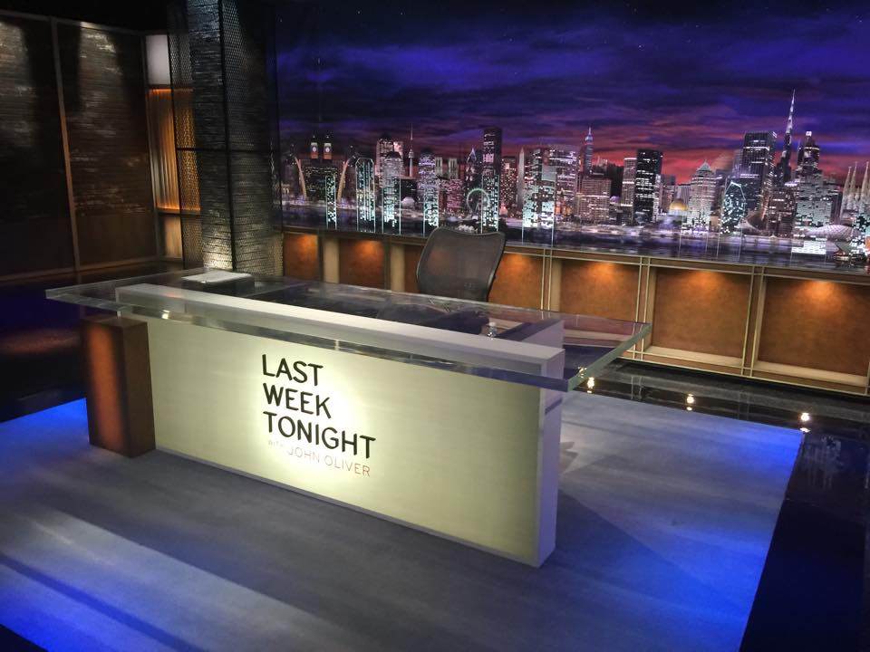 Tim Goes to a Taping of 'Last Week Tonight with John Oliver'