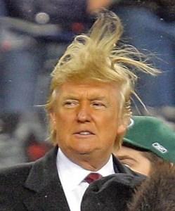 Trump in zero-g