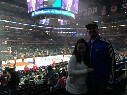 Inside the Staples Center