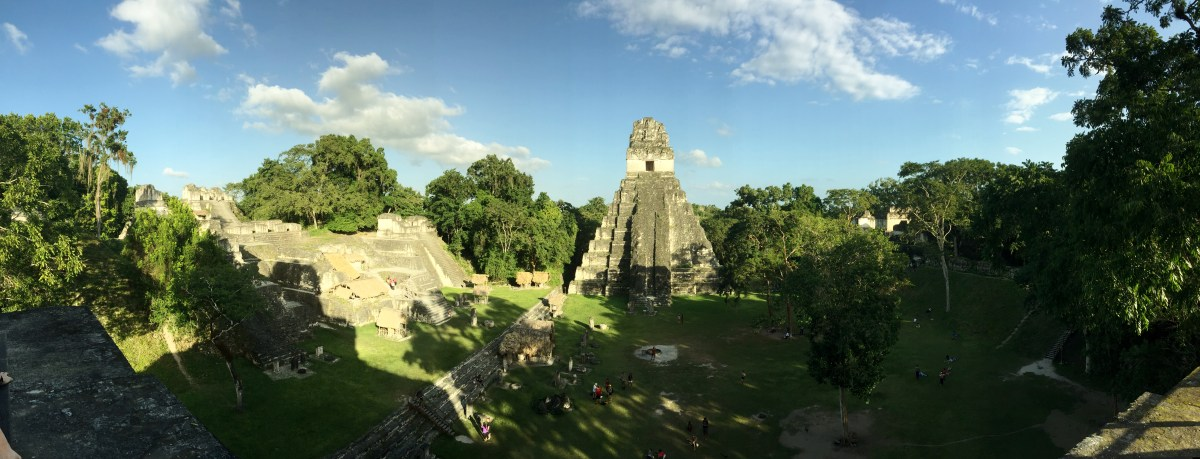 Central America, pt. 3: Our First Visit to Mayan Ruins