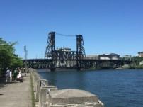 One of many drawbridges