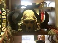 A skull-hat